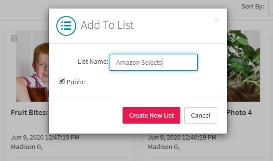 creating new list
