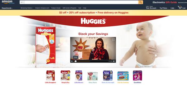amazon advertising landing pages