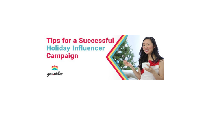 Create compelling influencer video content this holiday season.