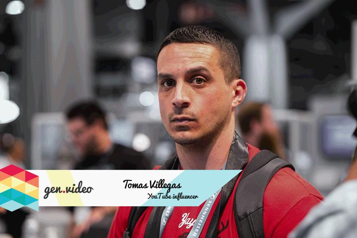 YOUTUBE INFLUENCER OF THE MONTH: TOMAS VILLEGAS