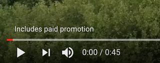 YouTube paid promotion