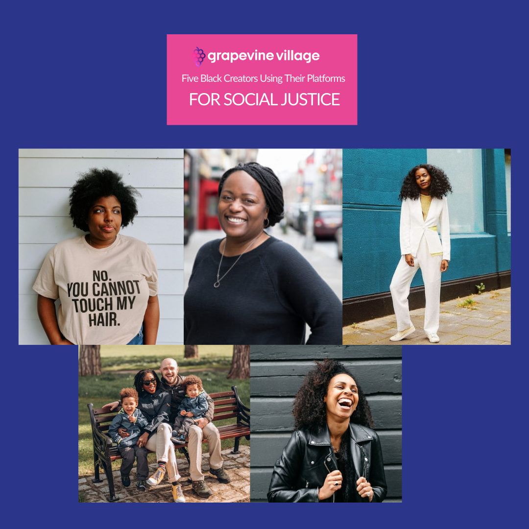 Five Black Creators Using their Voices to Make a Difference
