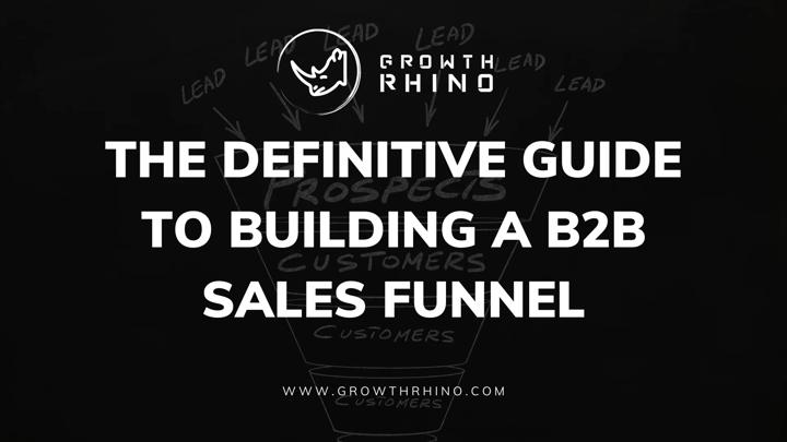 B2B sales funnel guide