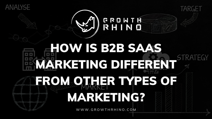 Difference b/w b2b saas marketing with other marketing