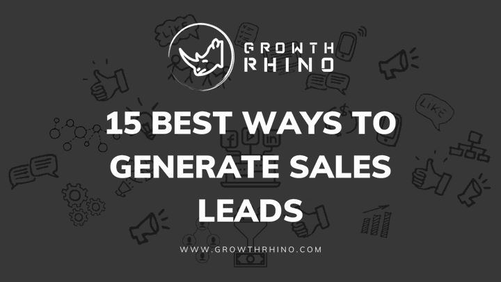 Ways to generate leads