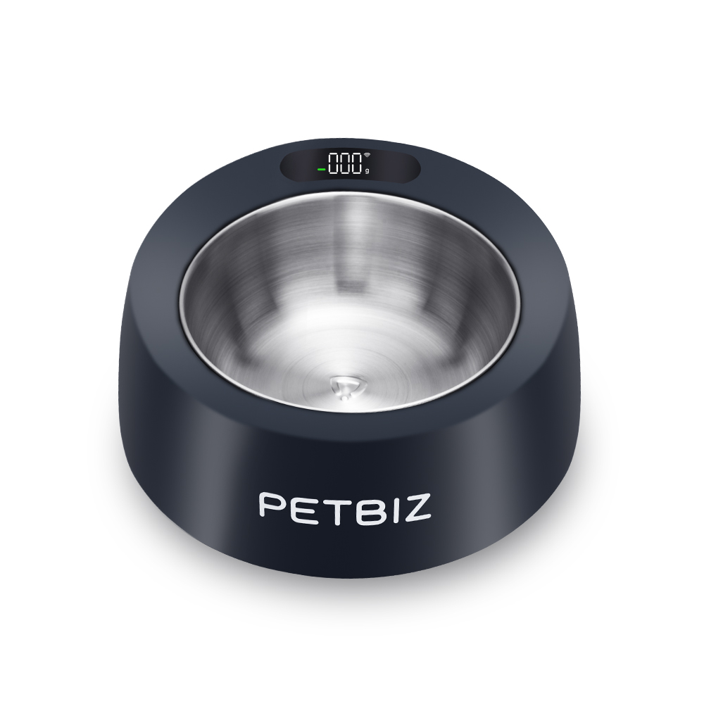 Black Smart Bowl by Petbiz