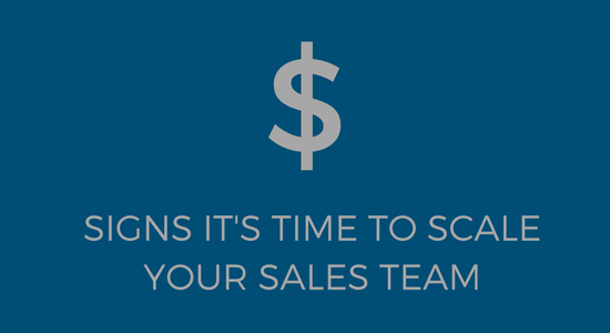 Scale your sales