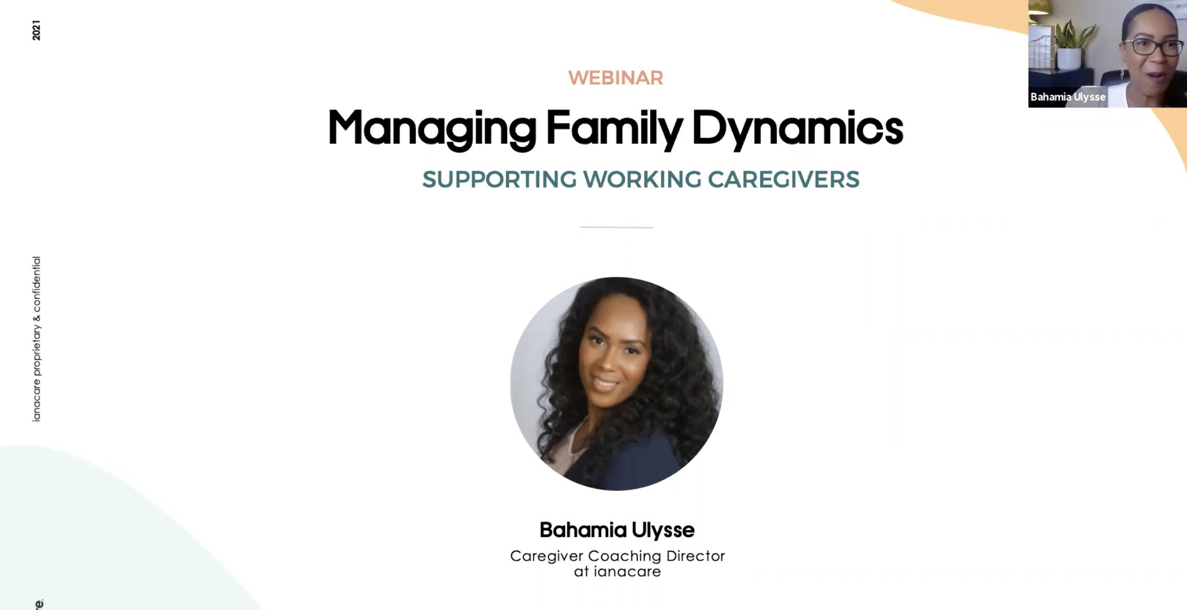 Watch: Managing Family Dynamics