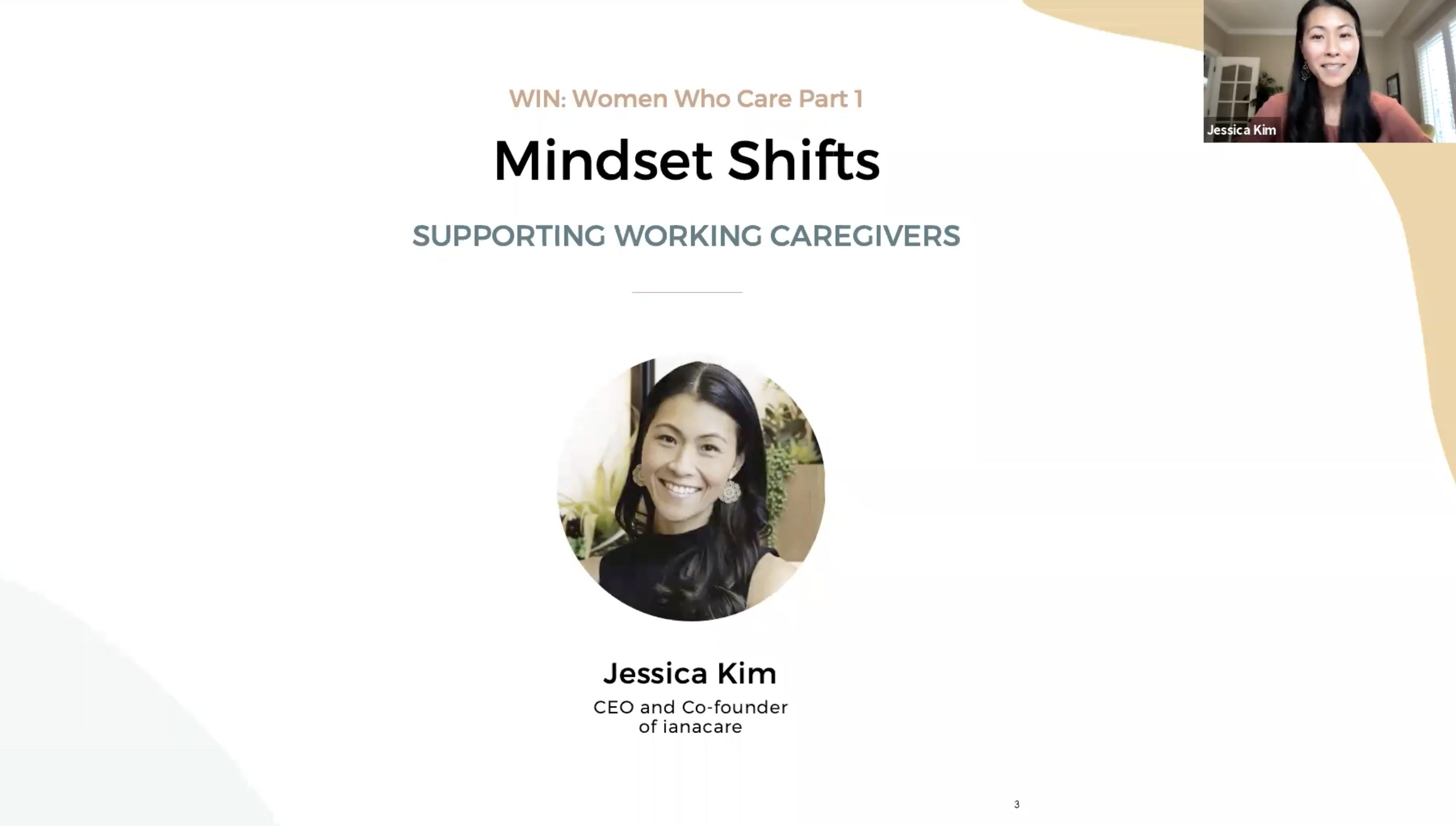 Watch: WIN Caregiving Series - Mindset Shifts