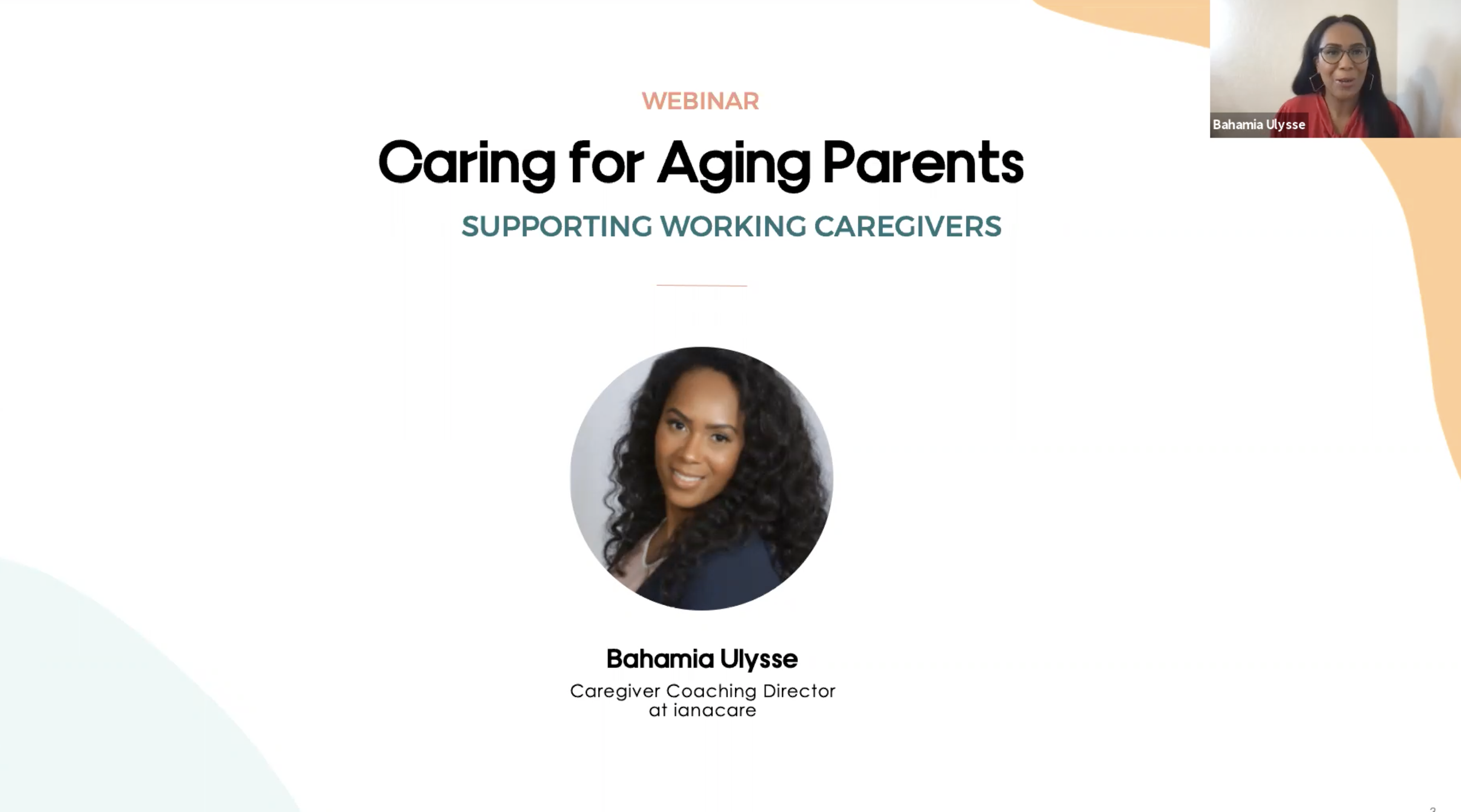 Watch:Caring for Aging Parents