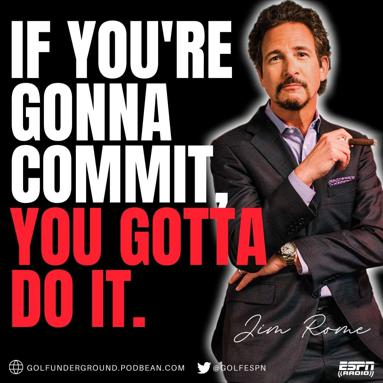 Podcast - If You're Gonna Commit You Gotta Do It.