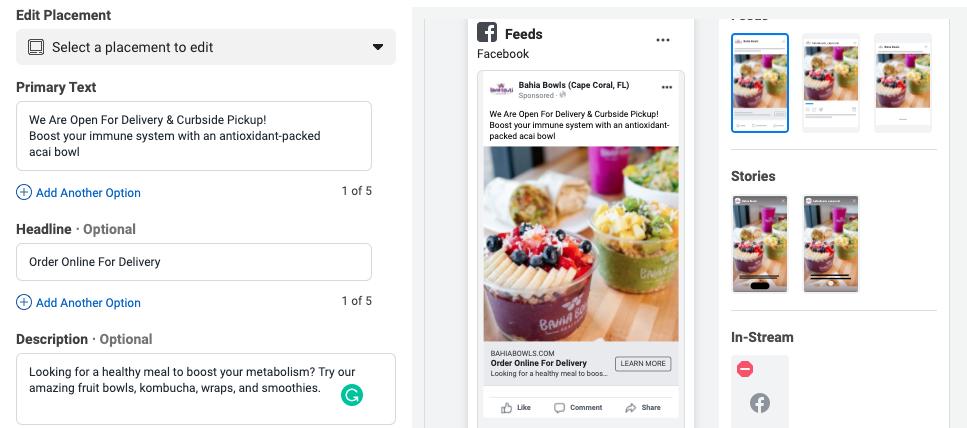 Facebook Advertisement Copy That Converts