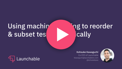 machine learning for test automation