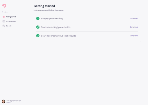Getting started for flaky tests