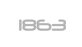1863 logo
