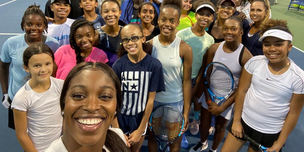 Tennis star Sloane Stephens uses Margo platform