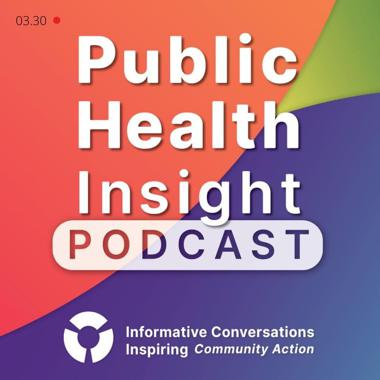 Public health insight podcast logo