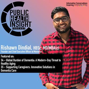 Rishawn featured in podcast public health insights