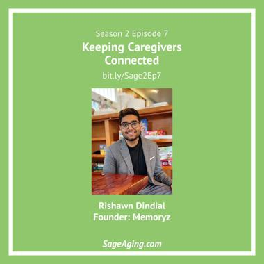 Sage Aging podcast featuring Rishawn