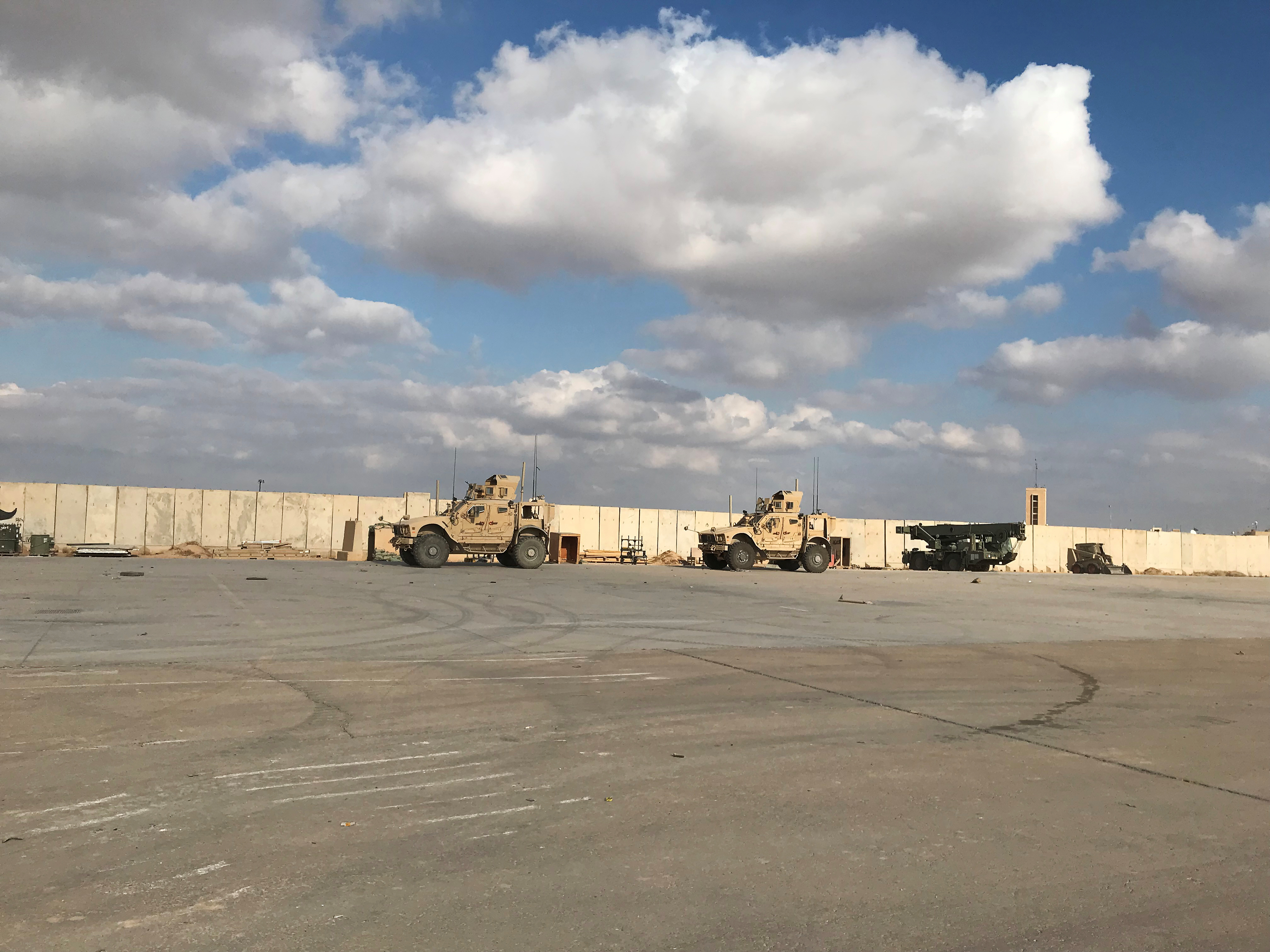 Iraqi Asad base, where U.S. forces work, attacked with rocket - U.S. Coalition