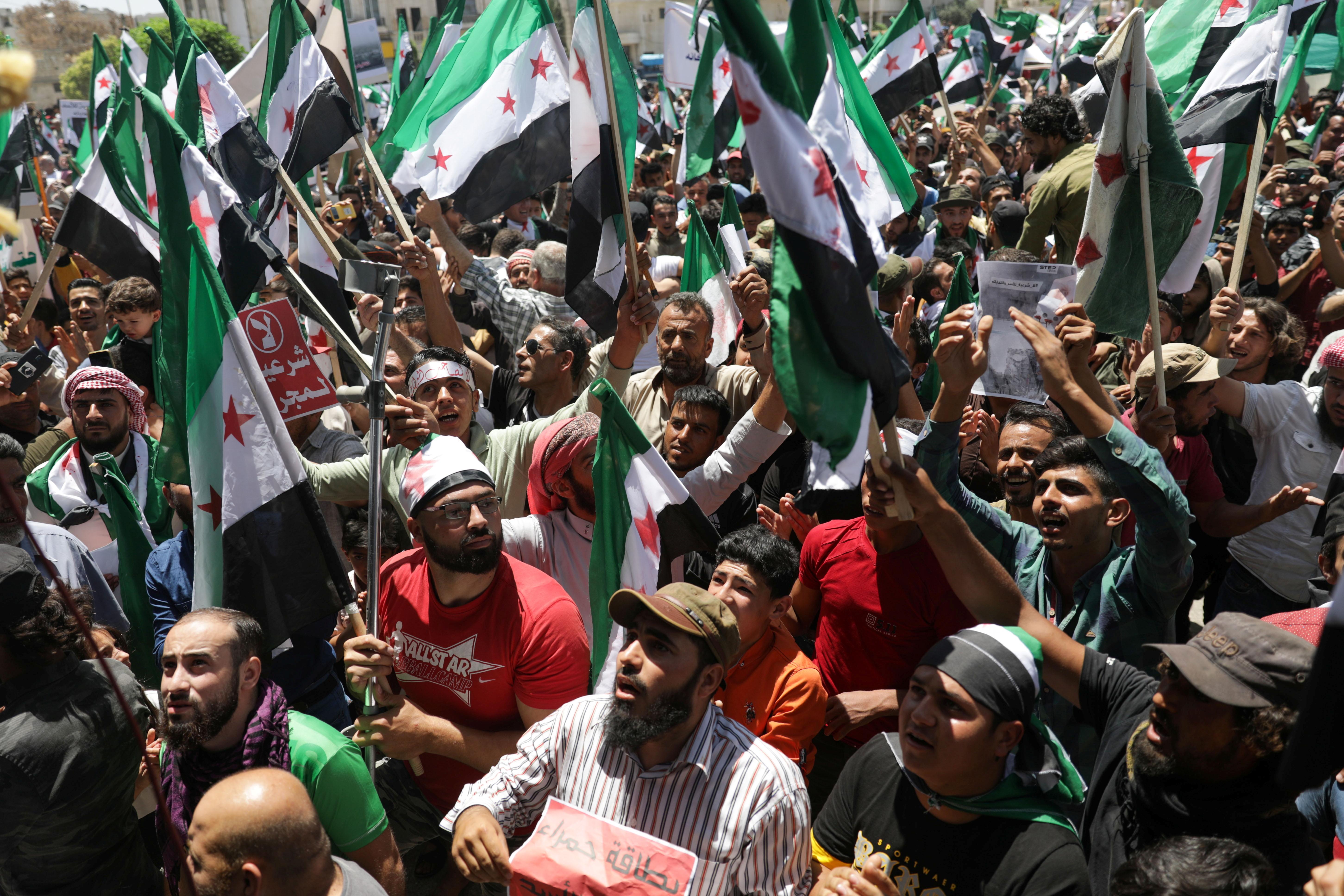 Who are Syrian President Bashar al-Assad's foes?