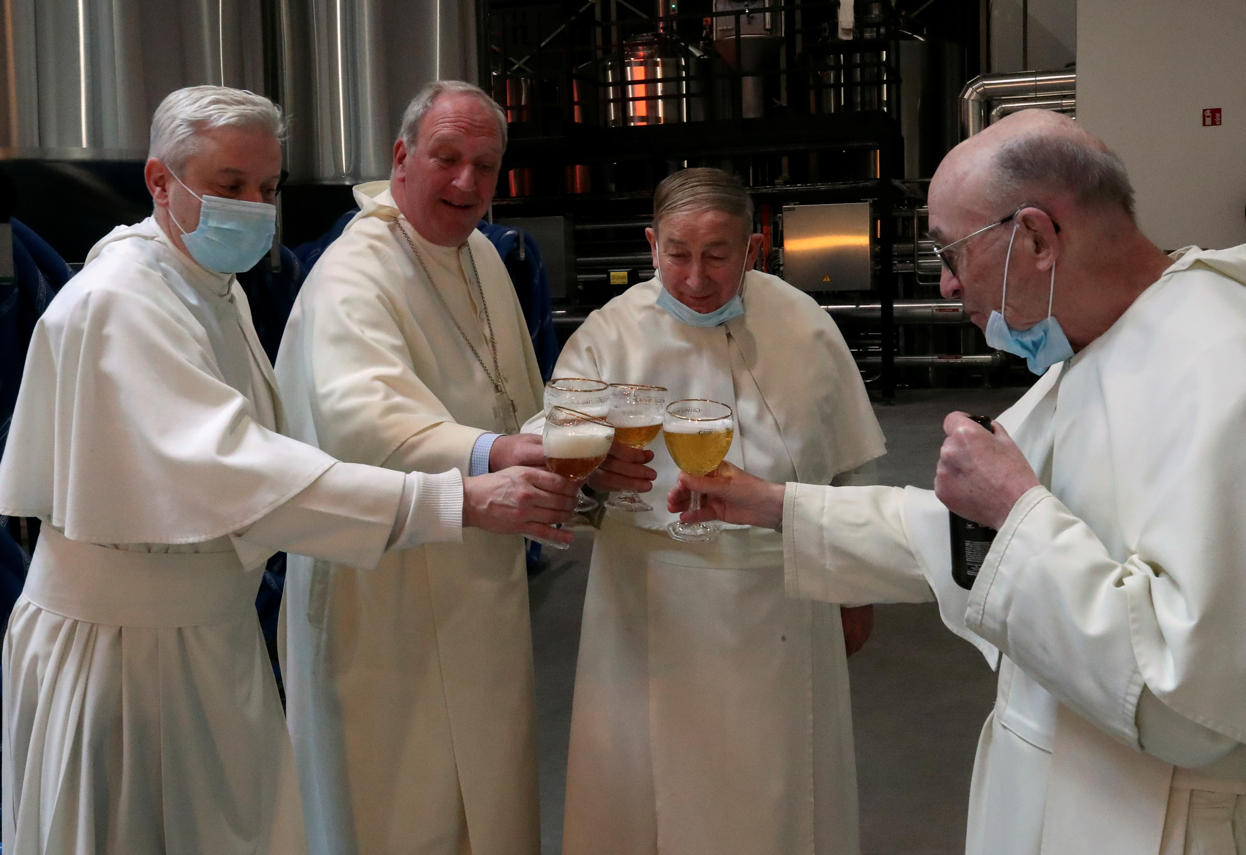 Belgian abbey raises brewery from ashes after 200 years
