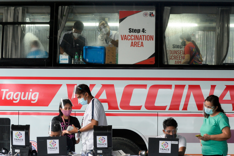 Philippines Duterte urges vaccine uptake after missing targets