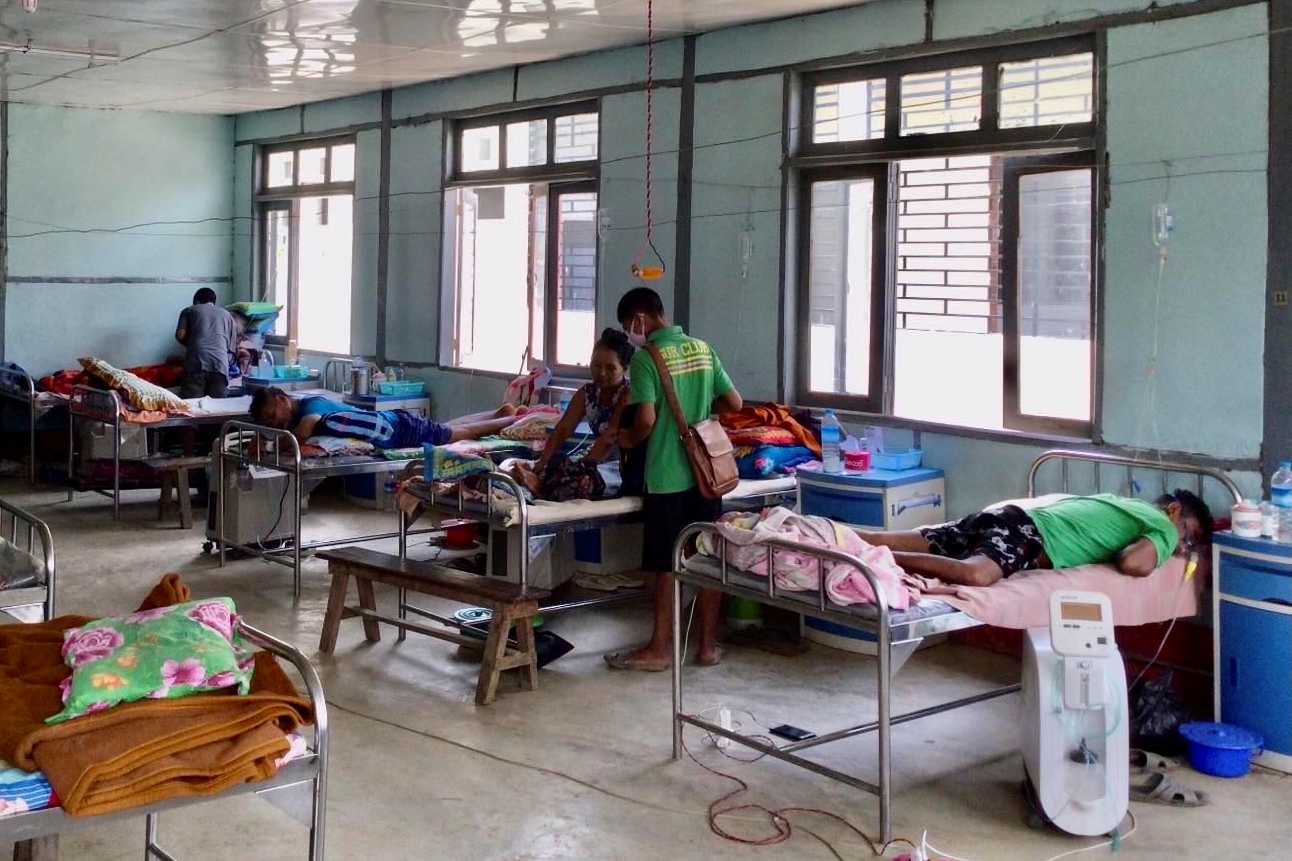 COVID-19 cases jump in Myanmar after outbreak near Indian border