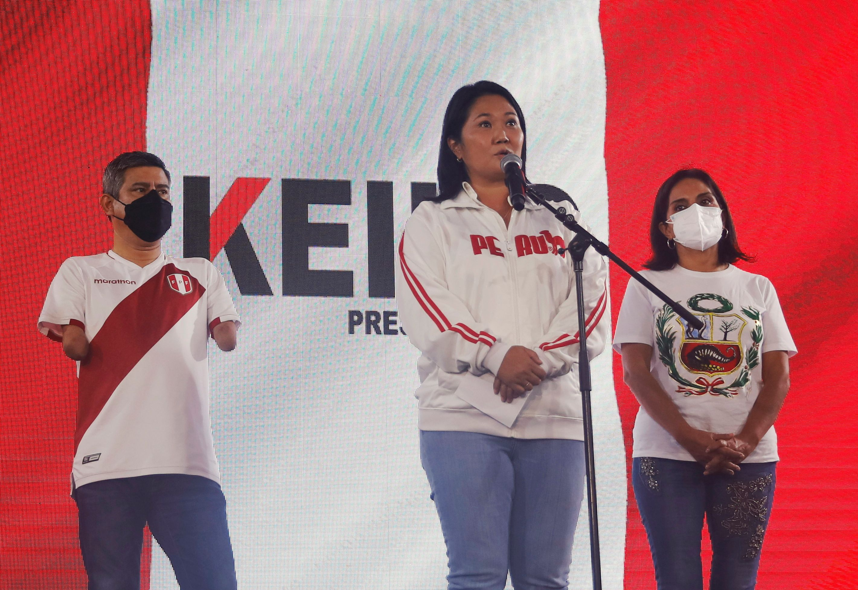 Peru's Castillo says there is 'hope' as razor-thin margin keeps country on edge