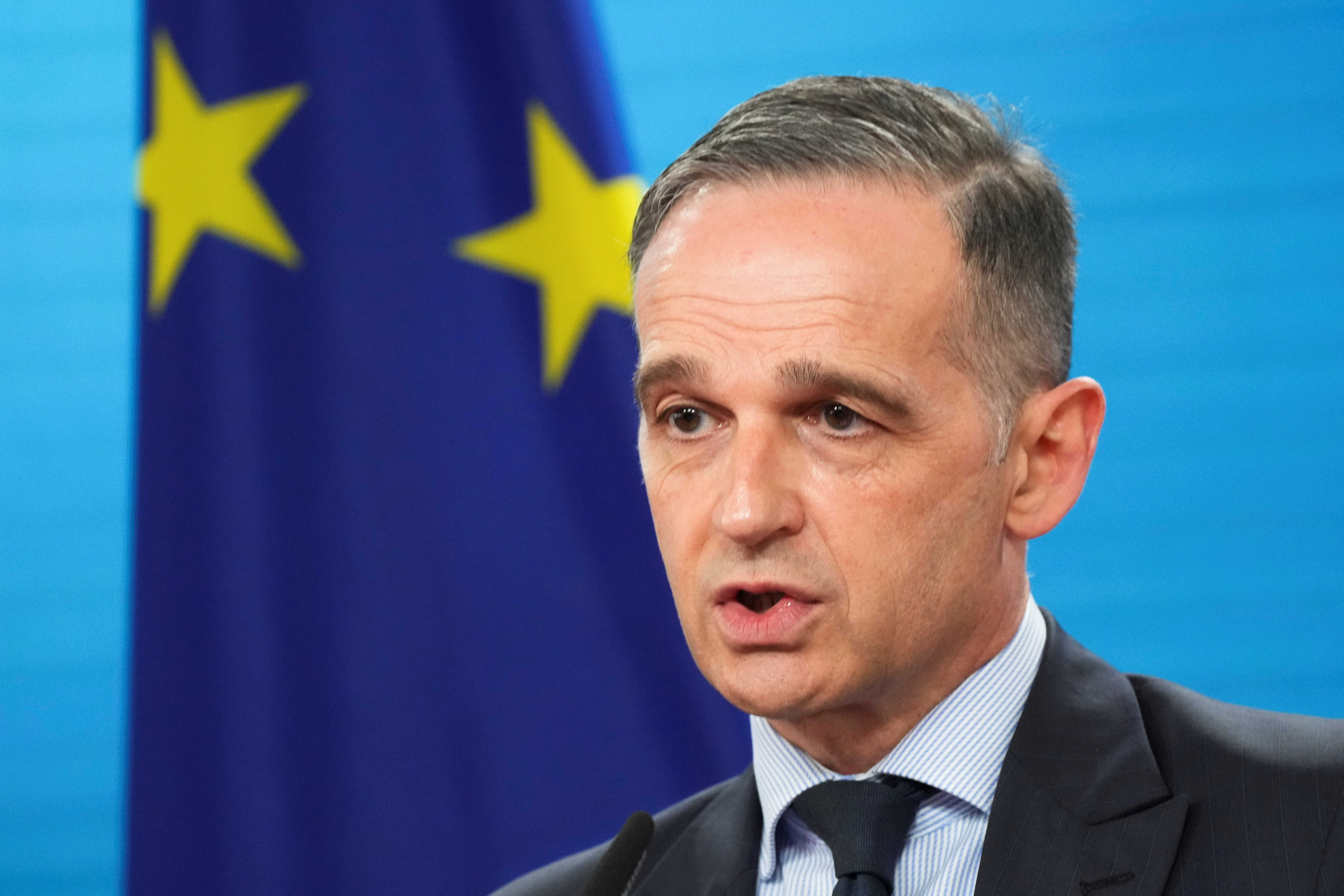EU veto 'hostage'-taking on foreign policy must end: Germany's Maas