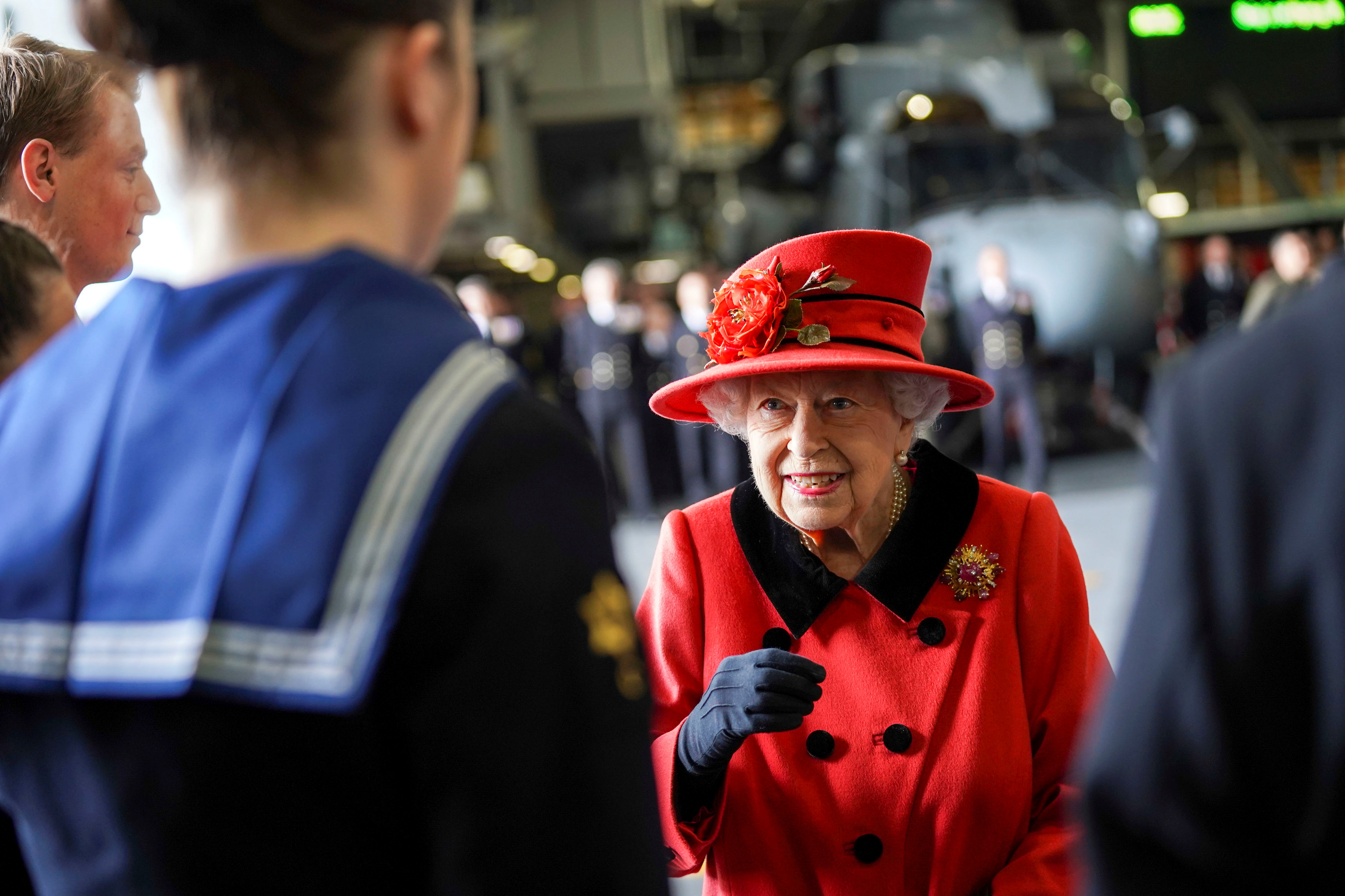 UK's Queen Elizabeth gifted rose as royals remember Prince Philip