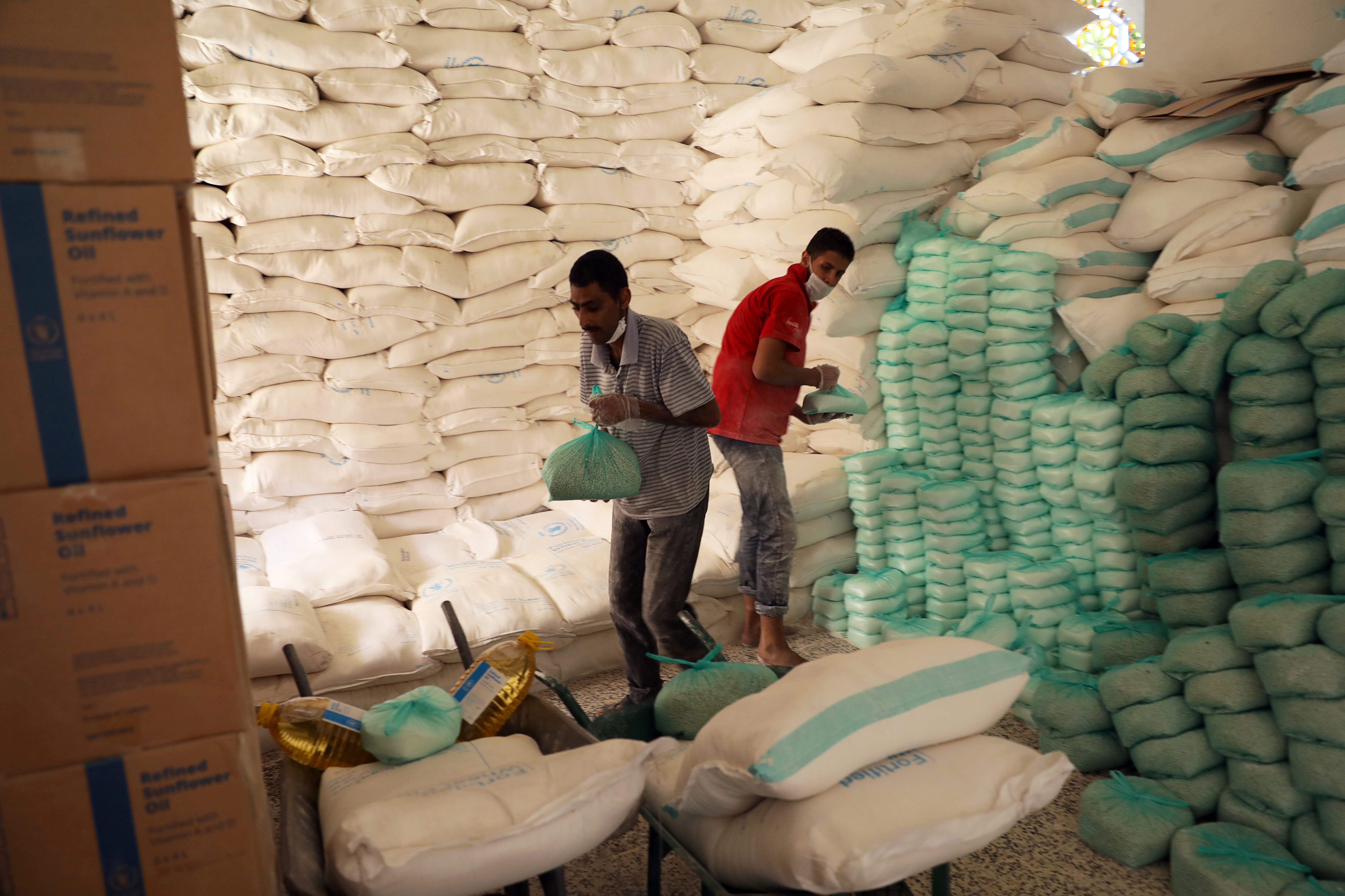 Food aid ramps up in Yemen, but funding crisis persists