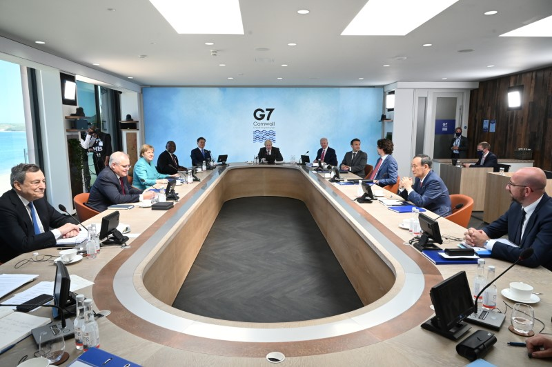 China, climate and vaccines - what the G7 agreed this weekend