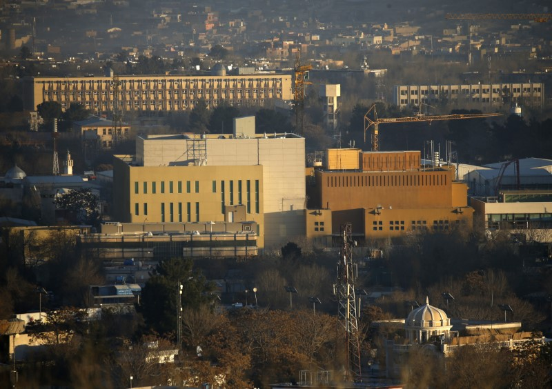 US embassy requires staff in Kabul to telework amid Covid-19 outb