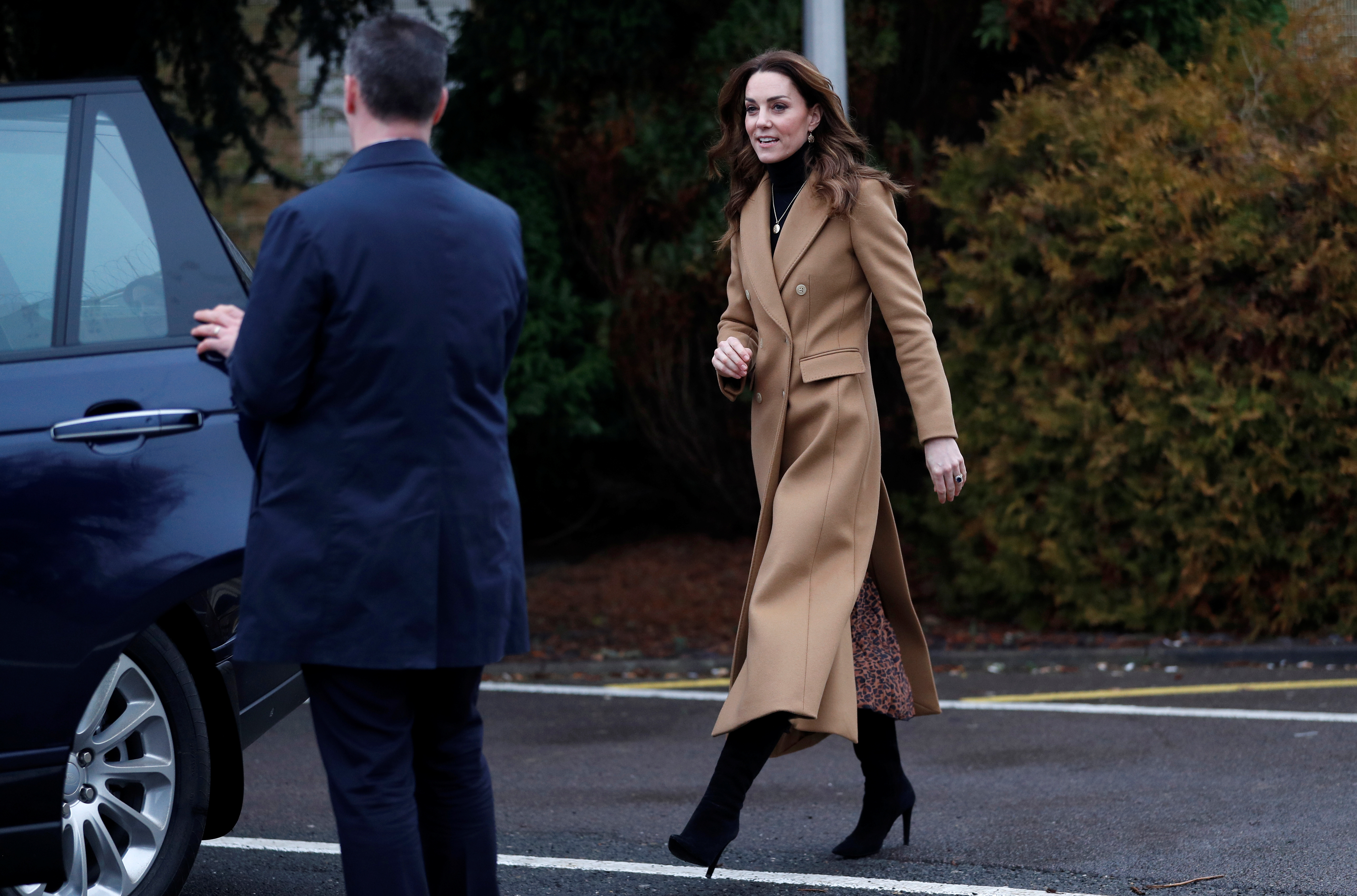 British Royal Kate Middleton launches center for early childhood