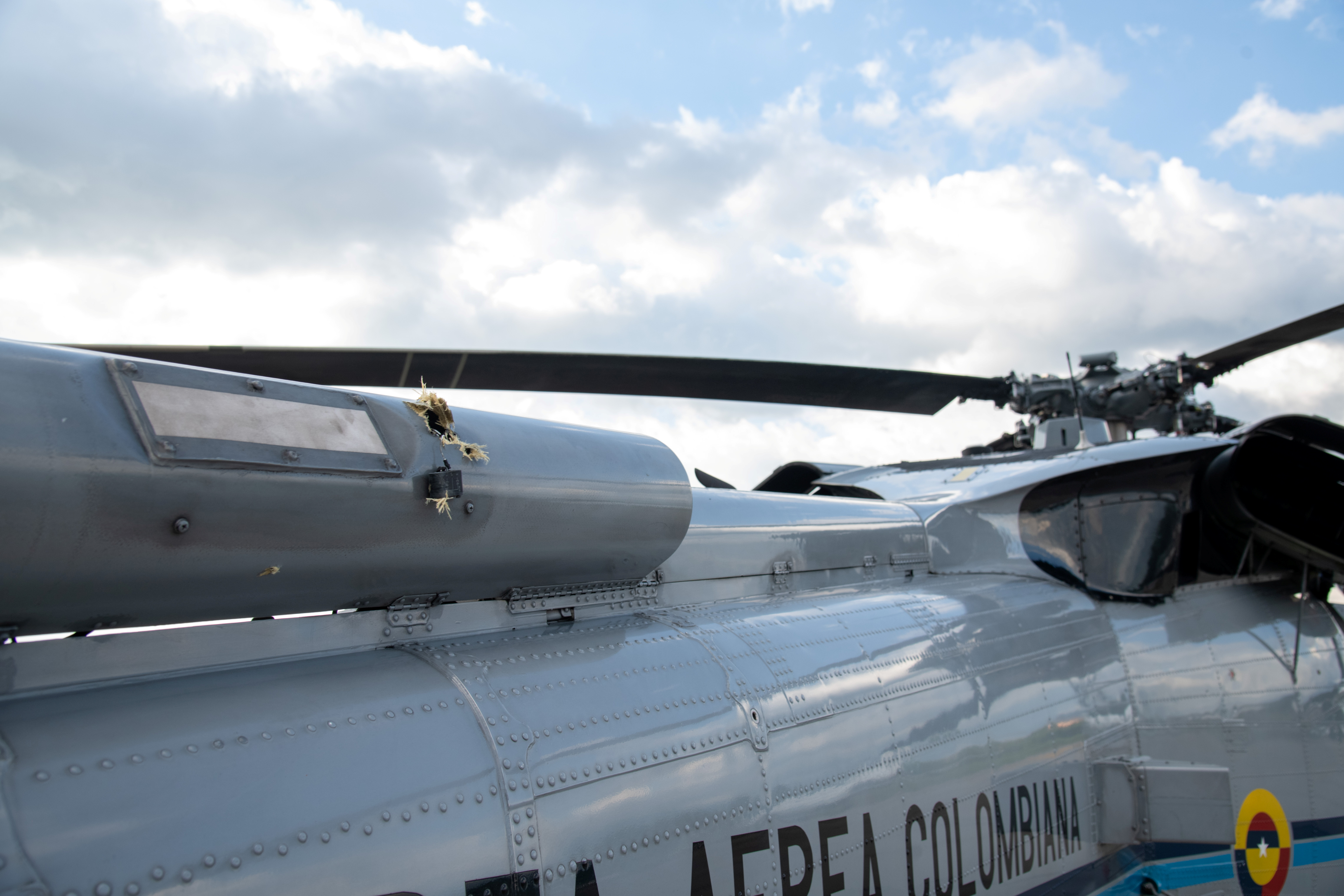Colombia's President Ivan Duque's helicopter attacked