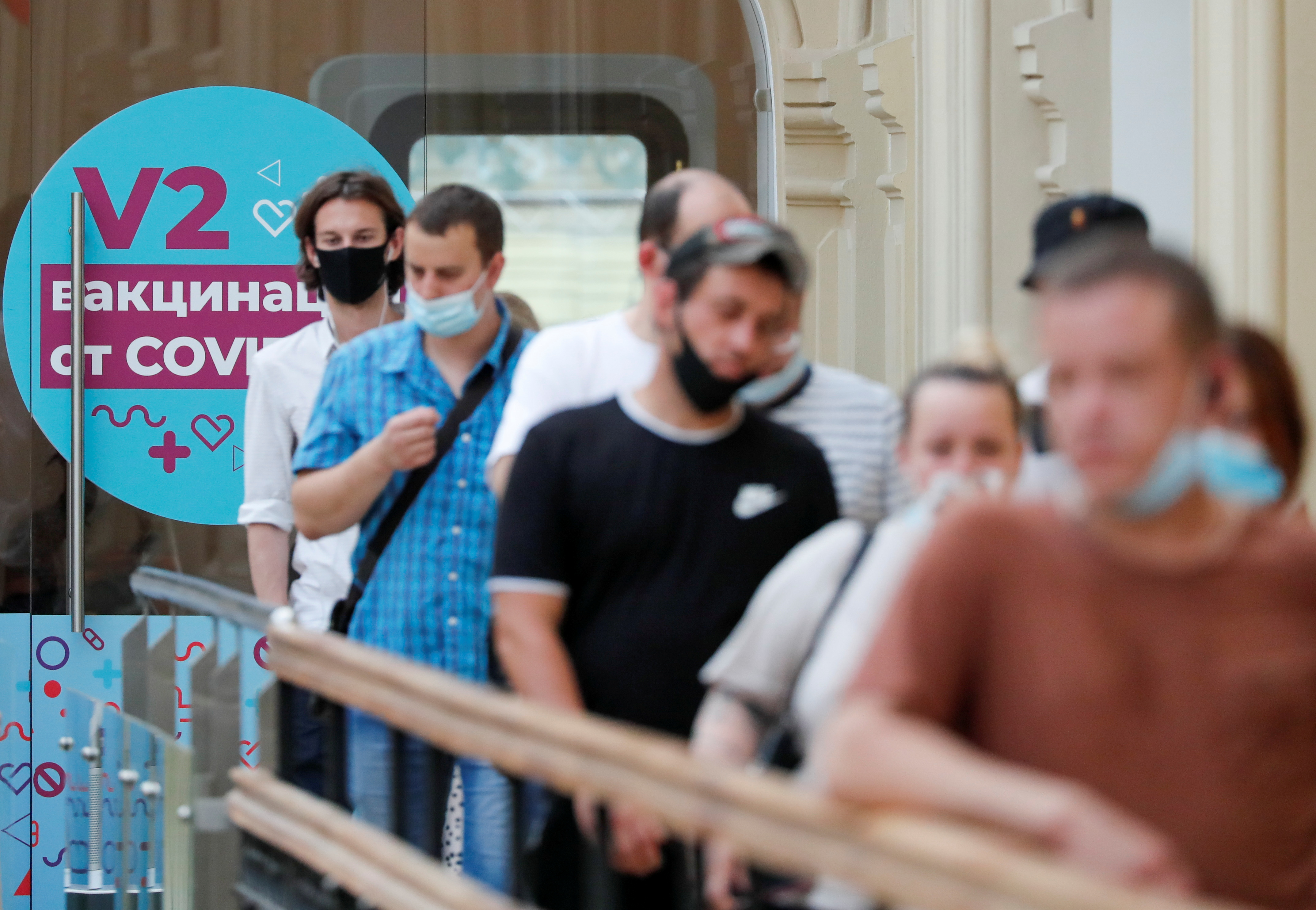 Russian regions run low on vaccines as COVID-19 cases jump