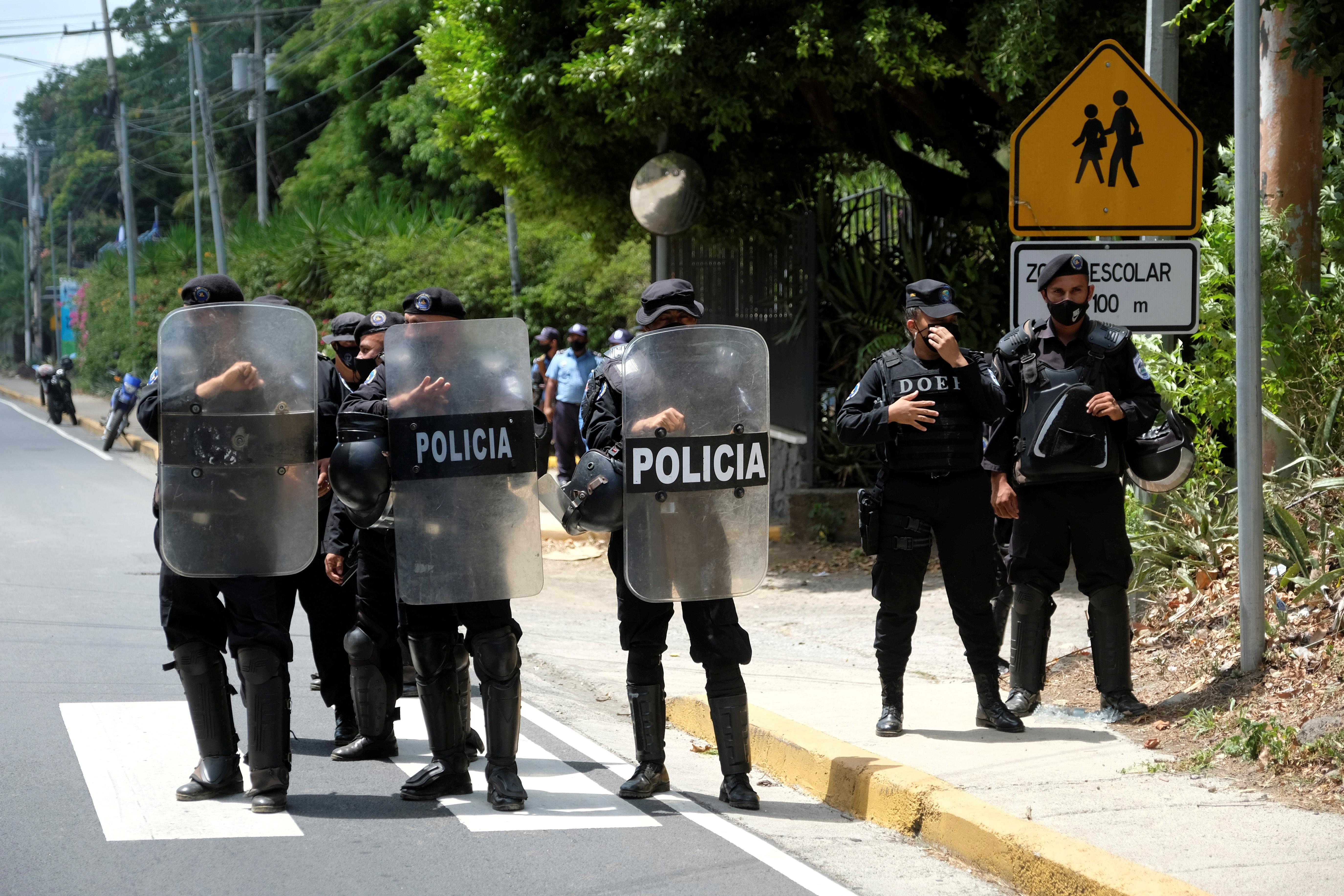 Nicaraguan police detain brother of arrested opposition leader Chamorro
