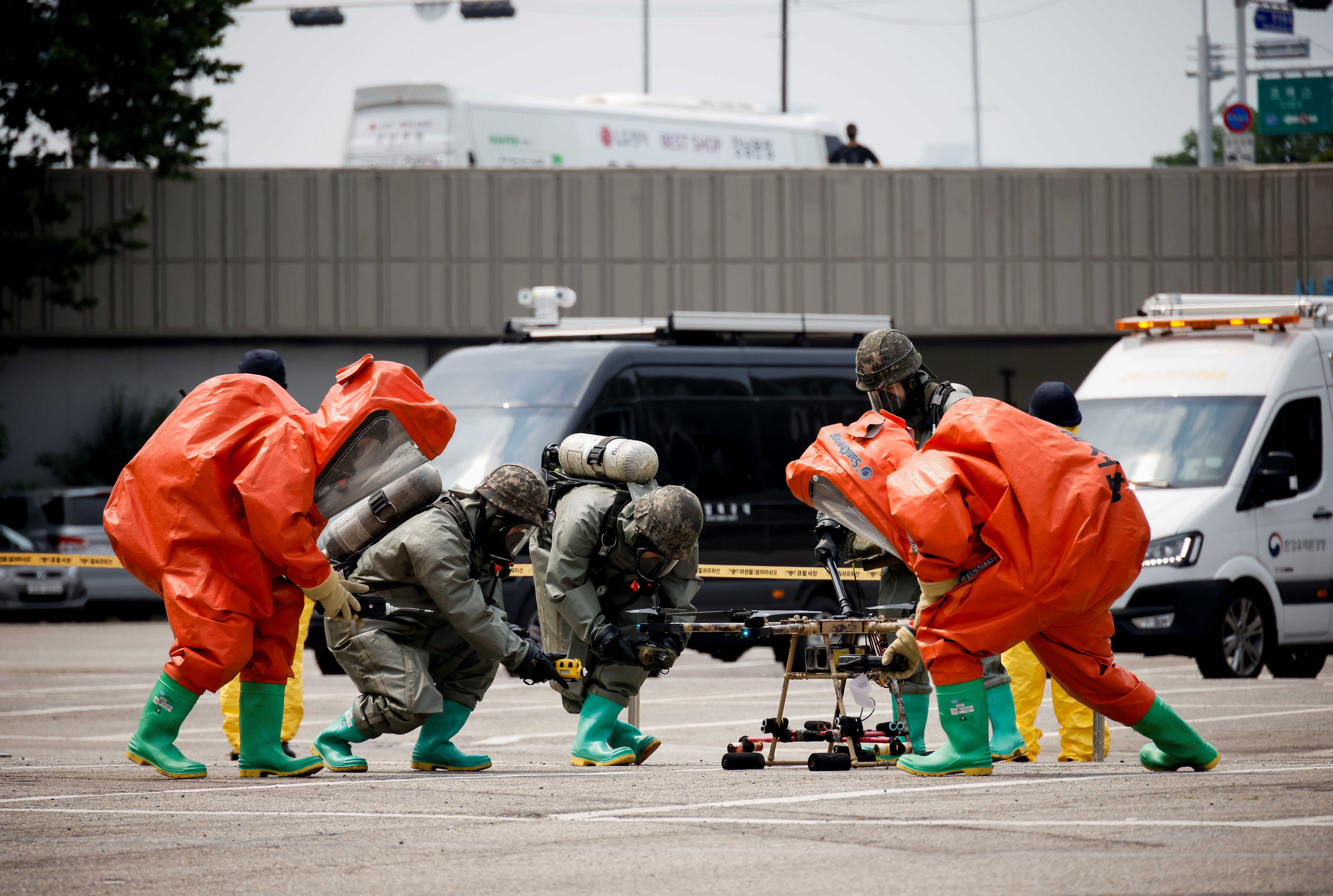 S.Korea prepares for drone attack, appearances gradually increasi