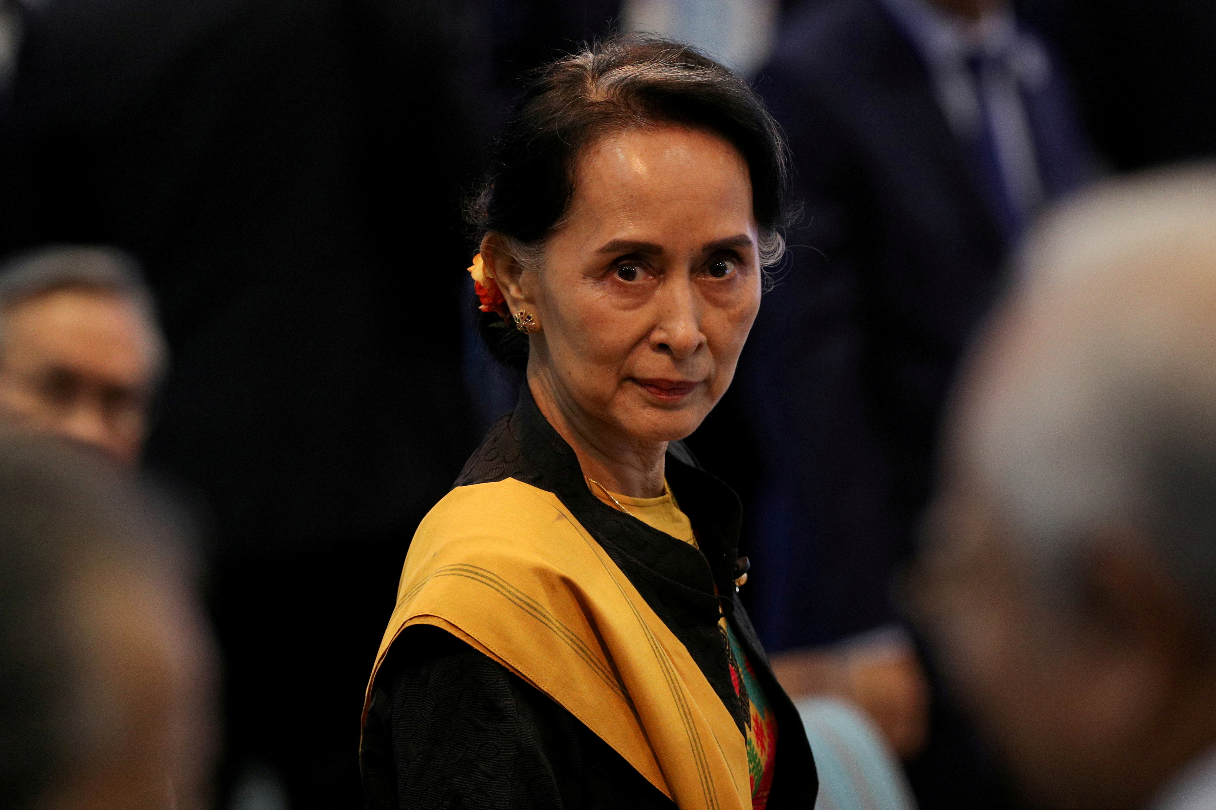 Myanmar judge rejects motion to dismiss evidence against jailed l