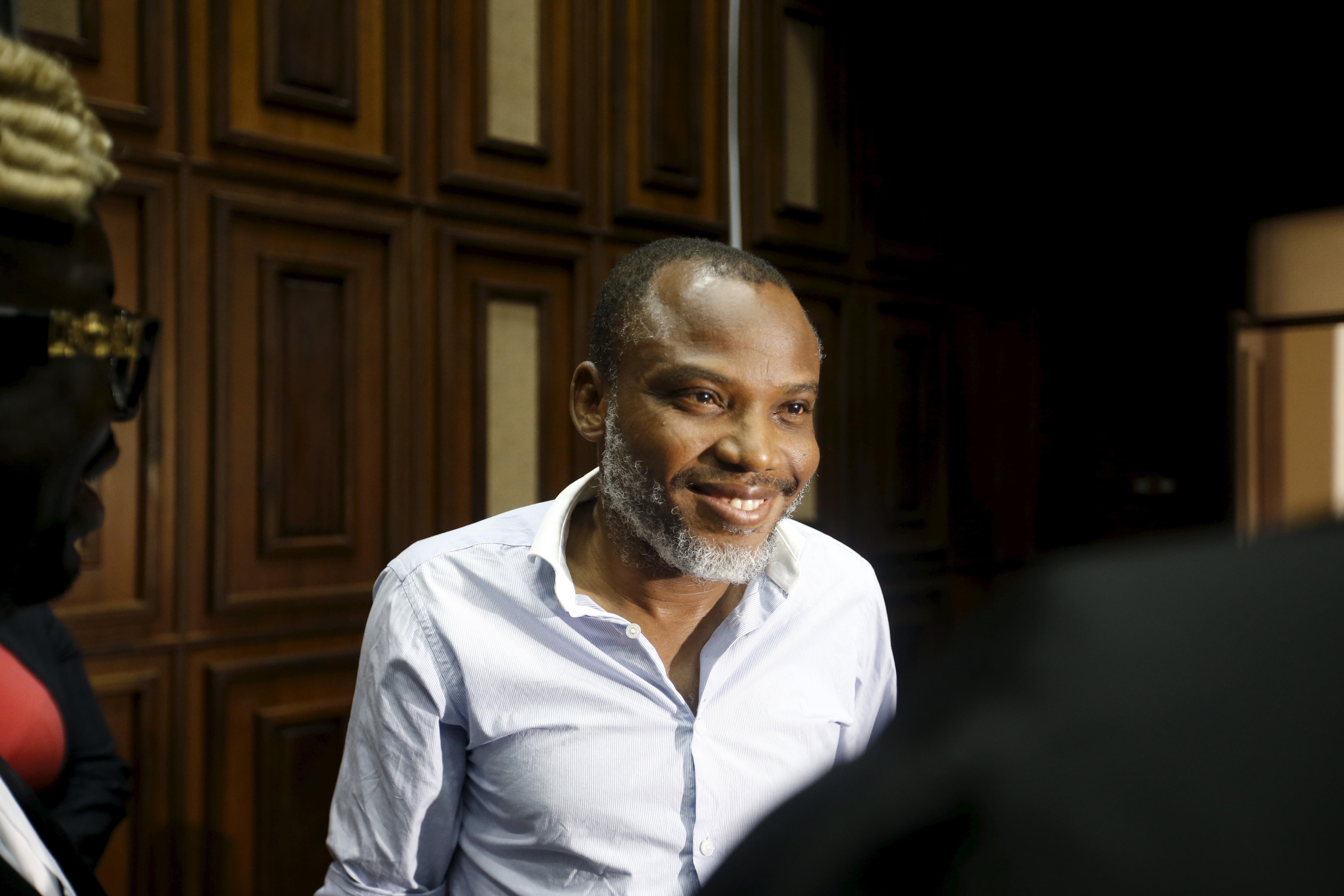 Biafran separatist leader Nnamdi Kanu arrested and will face tria