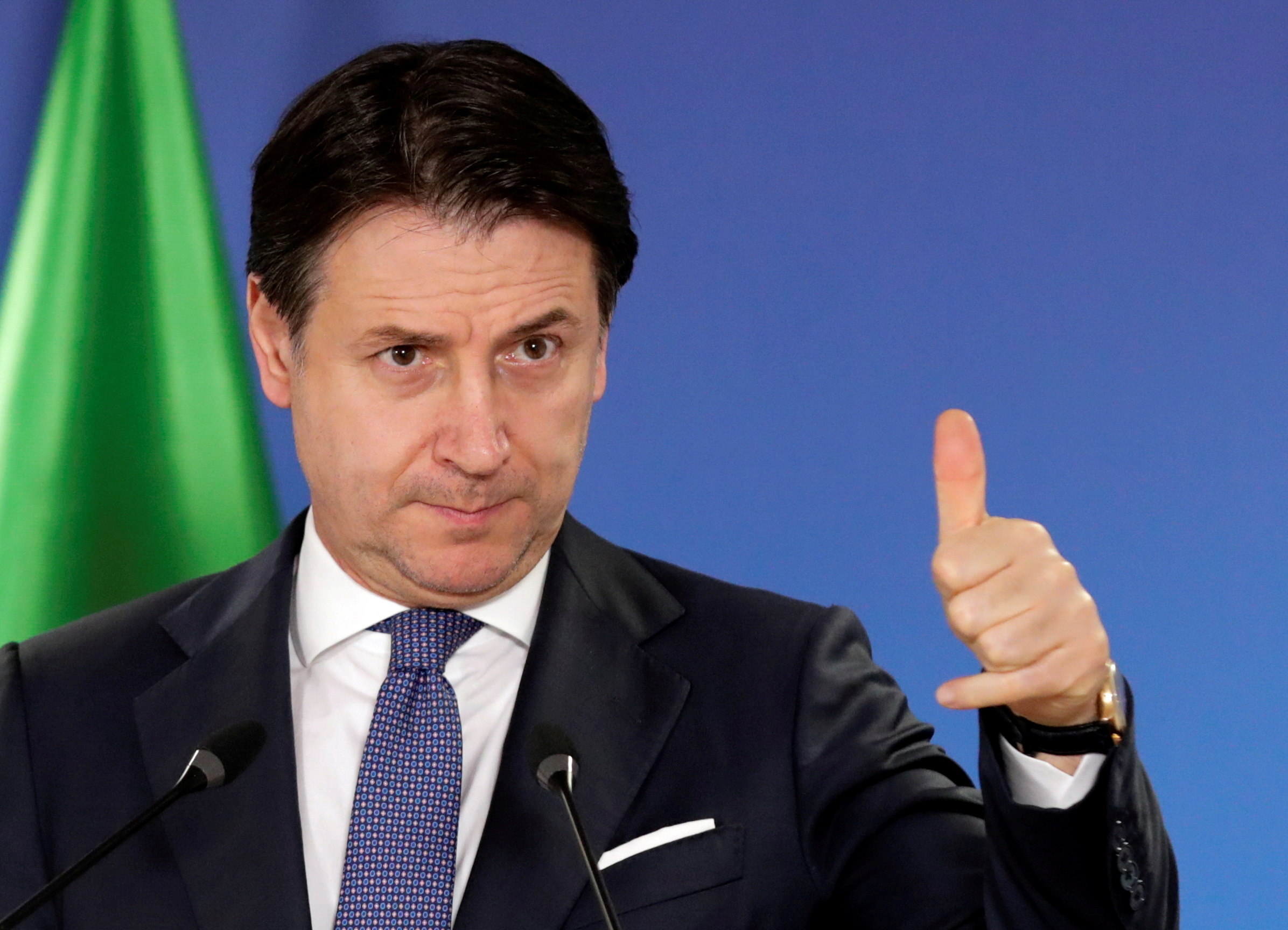 Italy's 5-star movement party in turmoil as founder criticizes ex
