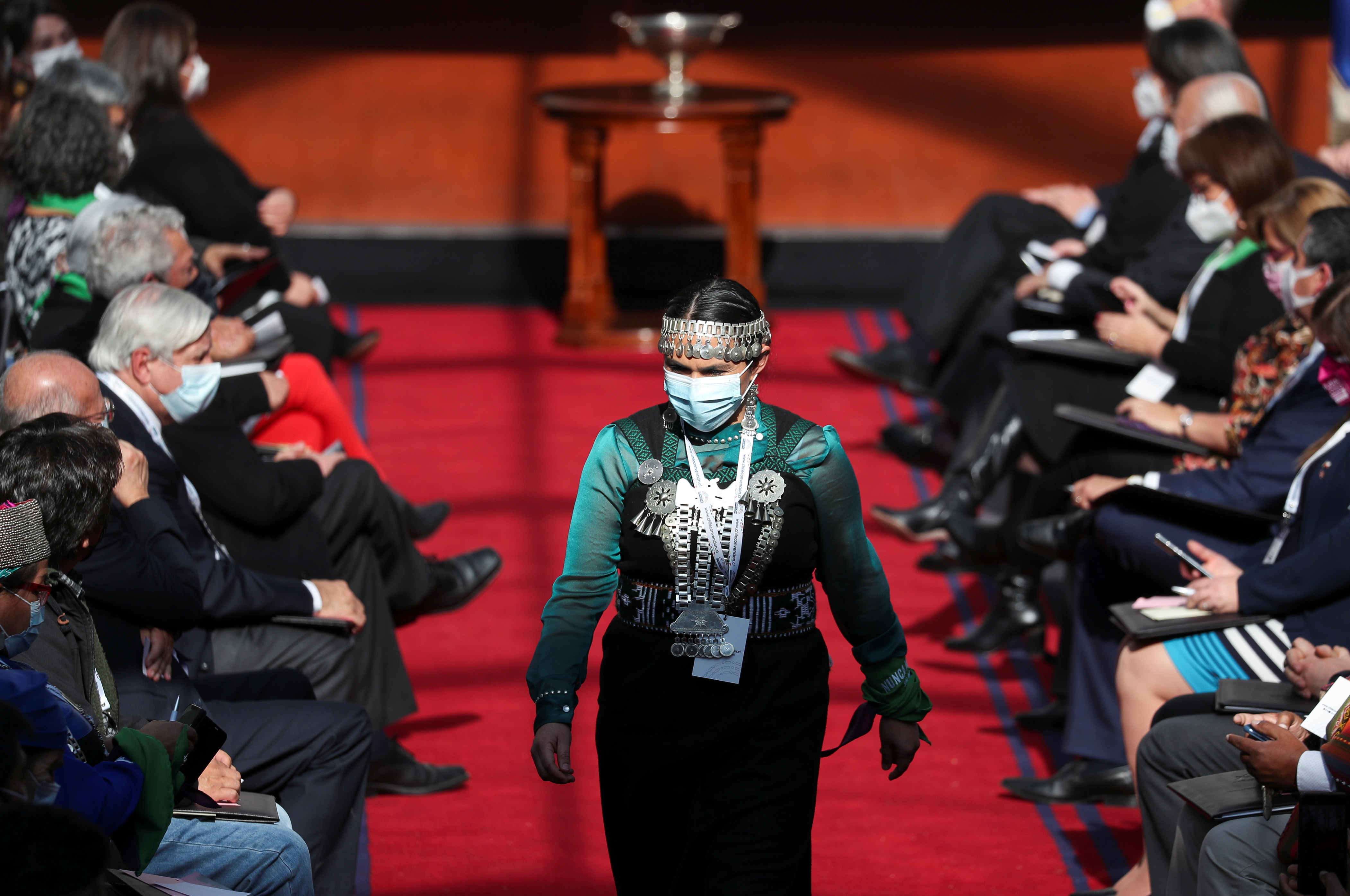Mapuche woman to lead in drafting Chile's new constitution