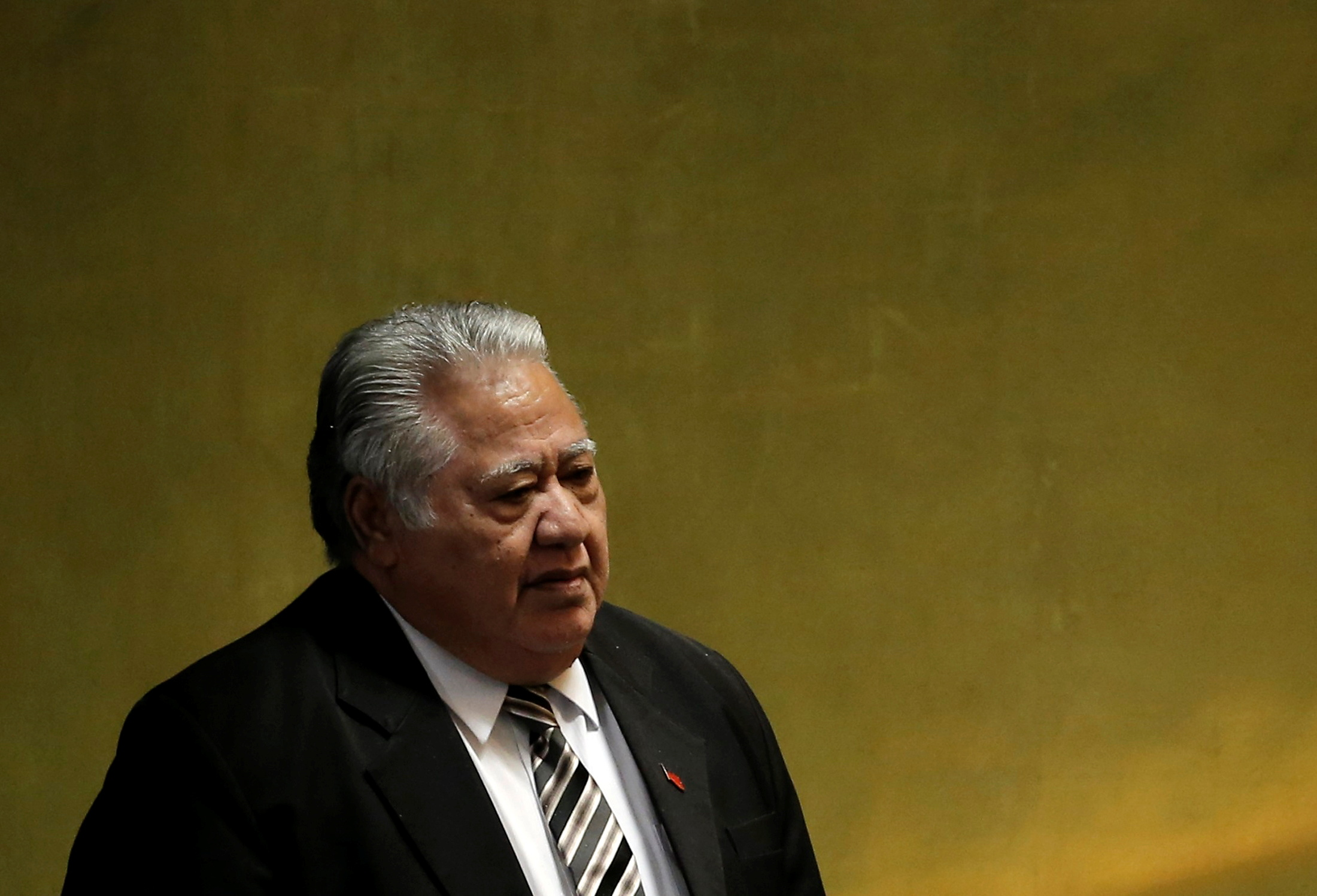 Former Samoa PM concedes election defeat, ends political instability