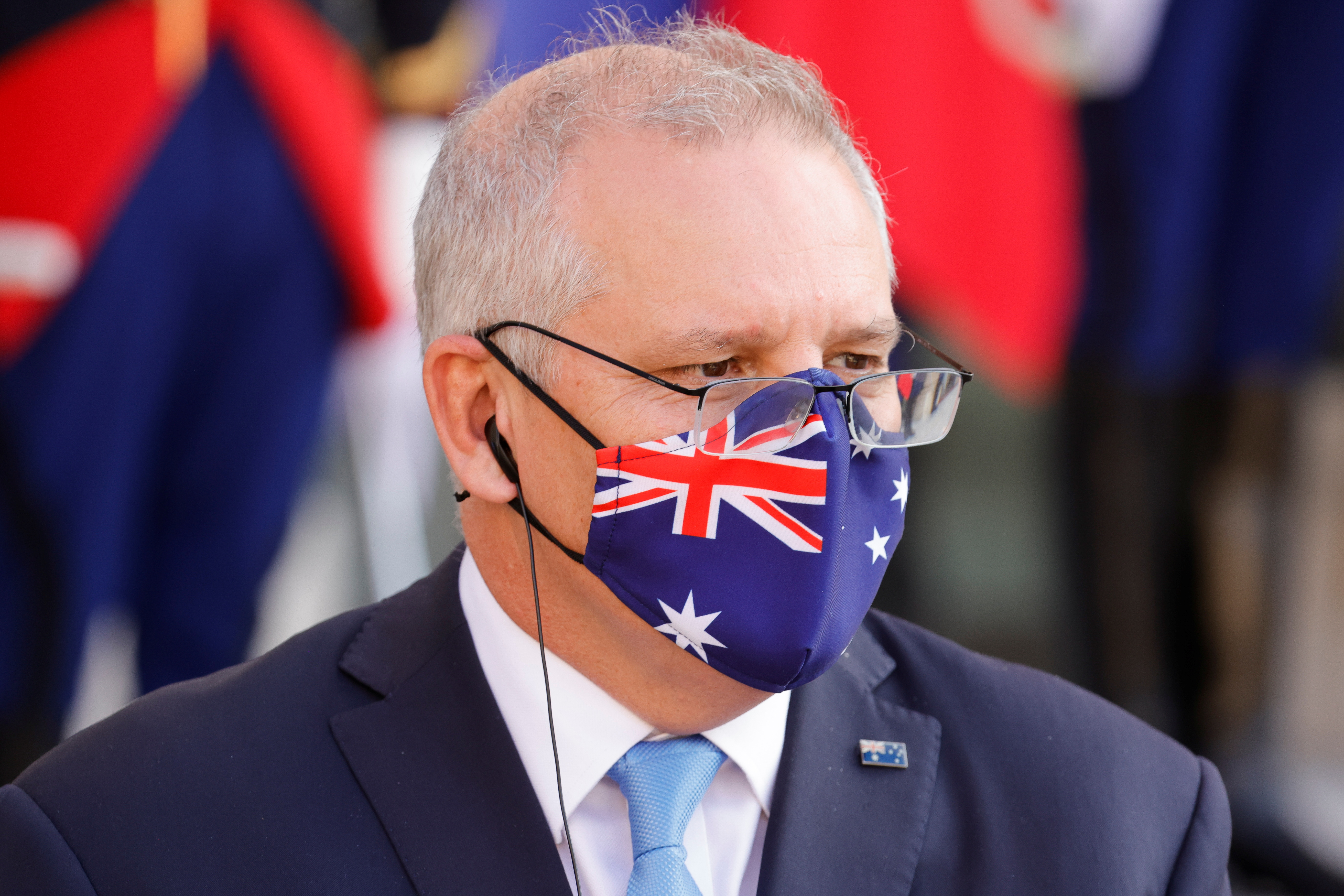 Australian PM Morrison defends lockdown strategy as daily cases hit record