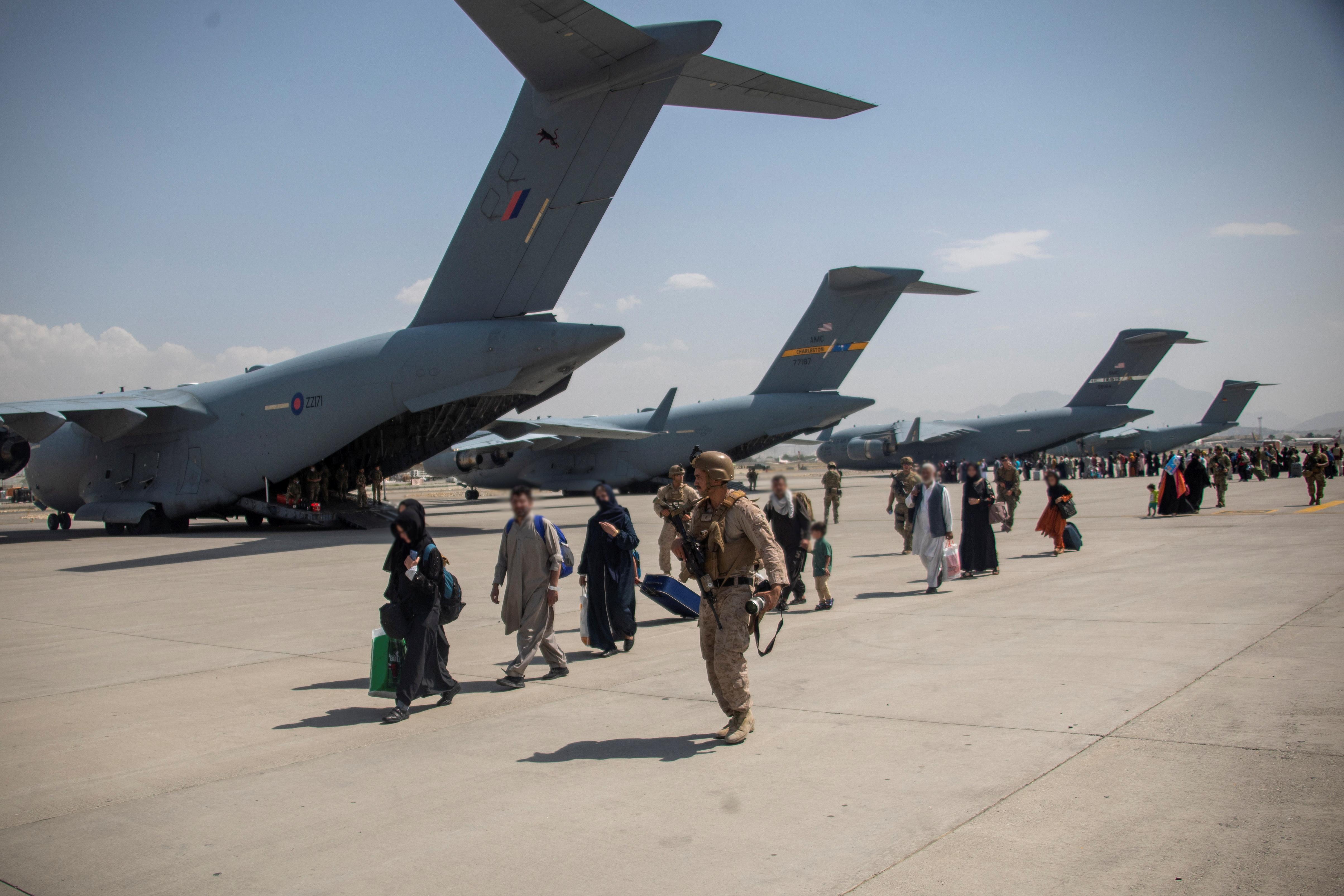 Extension to evacuation window in Afghanistan unlikely, UK warns