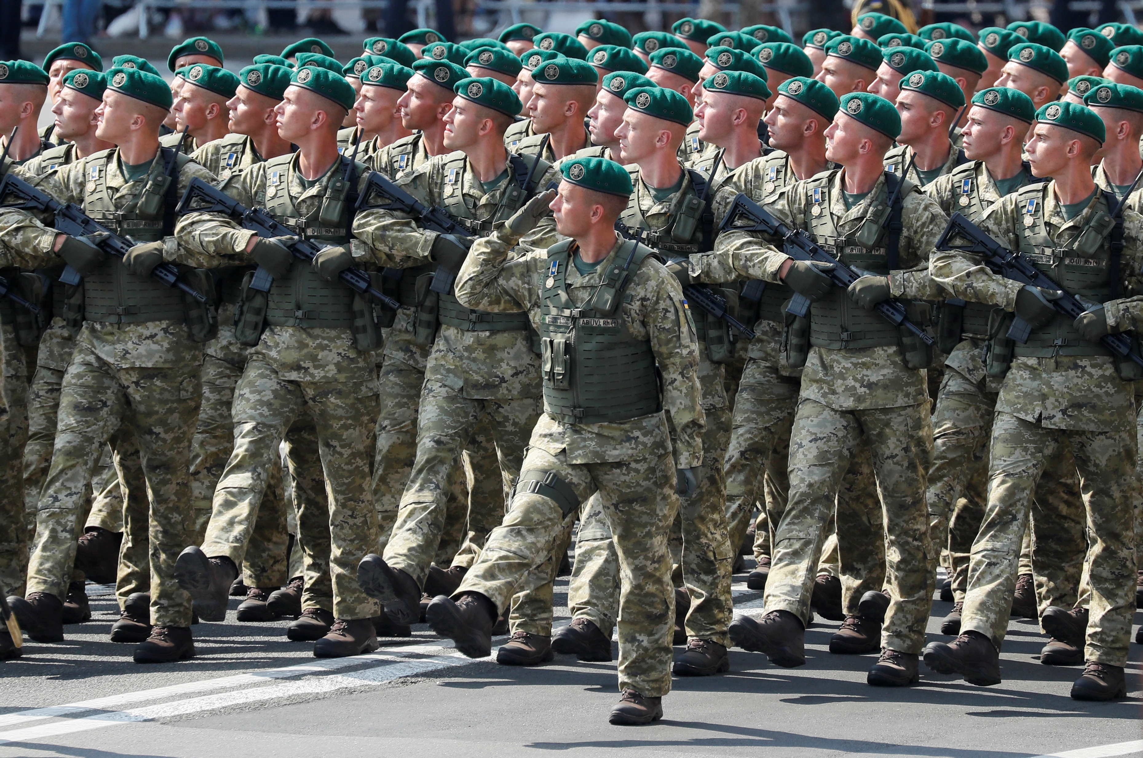 Ukraine marks Independence Day vowing to reclaim annexed territory