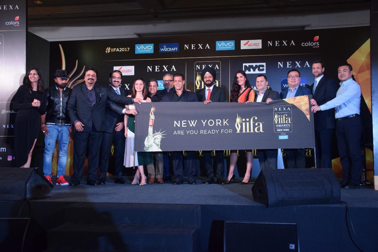 NEW YORK TO HOST IIFA AWARDS WEEKEND