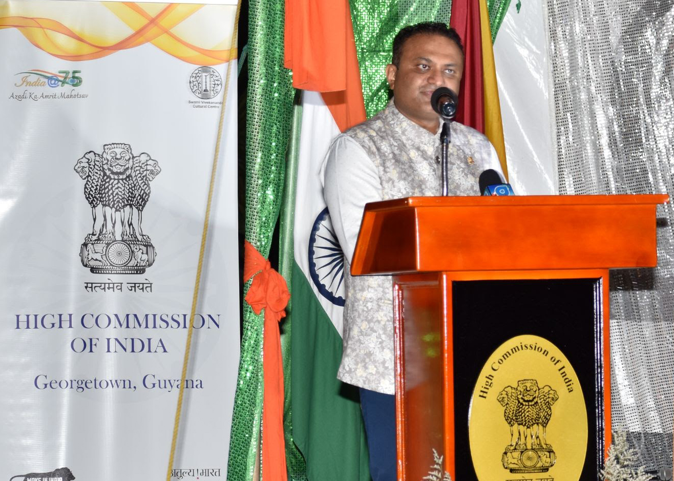 Swami Vivekananda Cultural Centre in Guyana holds cultural evening to celebrate Indian independence day