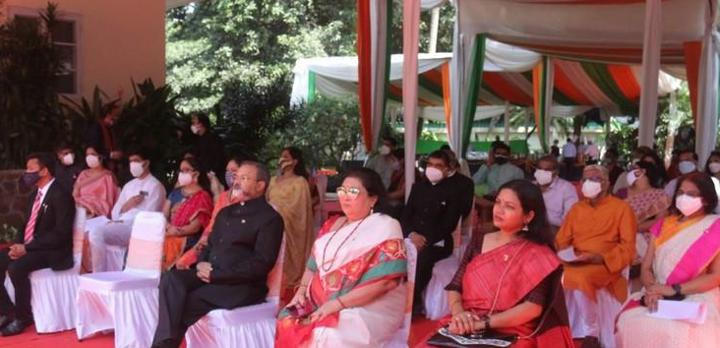 A view of the audience